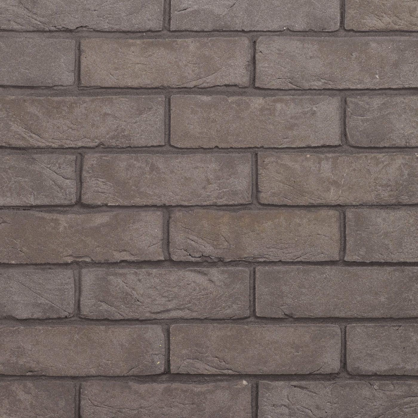 Couleur Gris Bleu Foncé brique de parement en terre cuite de couleur bleu-gris