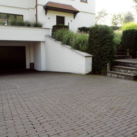 Reference photo private landscaping in Knokke