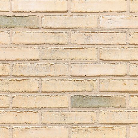 Aquaral Ginger Wit facing bricks in a running bond with mortar