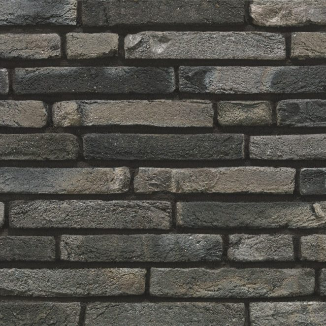 Linaqua Fumo facing bricks in a soft wild bond with a glued application