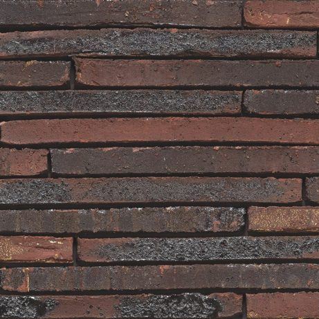 Wasserstrich Special E1 facing bricks in a soft wild bond with a glued application