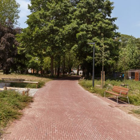 Reference photo infrastructure landscaping in Zwevegem