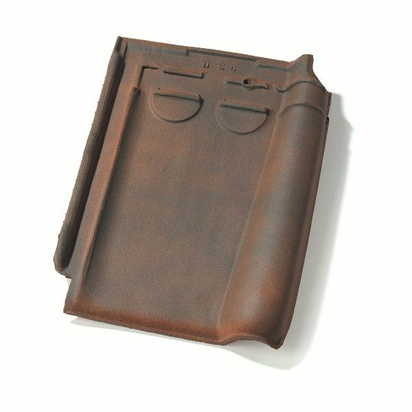 Single product shot of a Stormpan 44 Rustiek roof tile