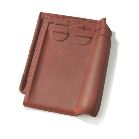 Single product shot of a Stormpan 44 Violine roof tile