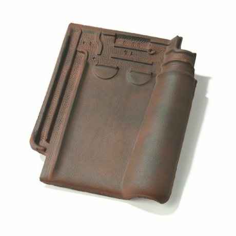 Single product shot of a Stormpan 993 Rustiek roof tile