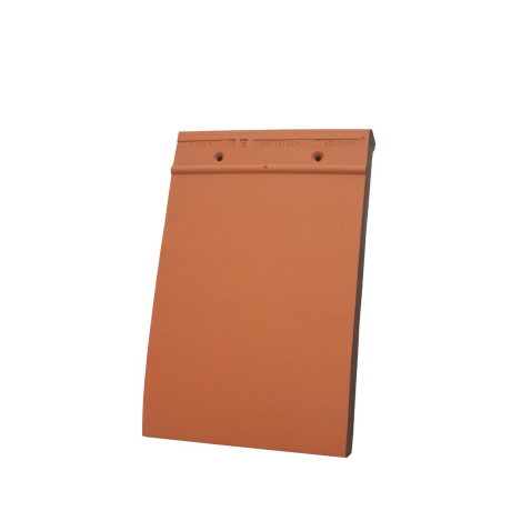 Single product shot of a Tegelpan 301 Natuurrood roof tile