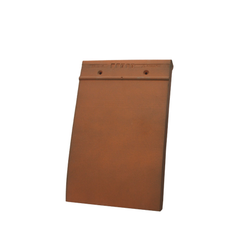 Single product shot of a Tegelpan 301 Toscana roof tile