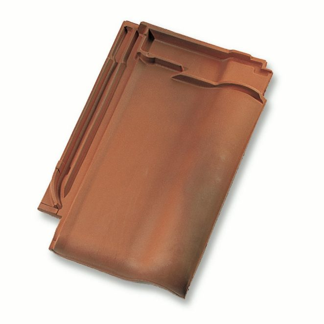 Single product shot of a Alegra 10 SE Gewolkt roof tile