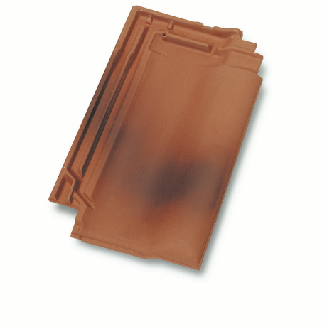 Single product shot of a Panne Gewolkt roof tile