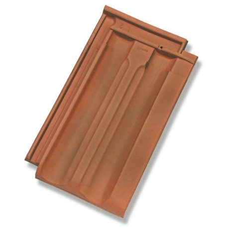 Single product shot of a Standard Gewolkt roof tile