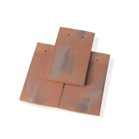 Single product shot of a Tegelpan Aleonard Pontigny Vieilli Naturel roof tile