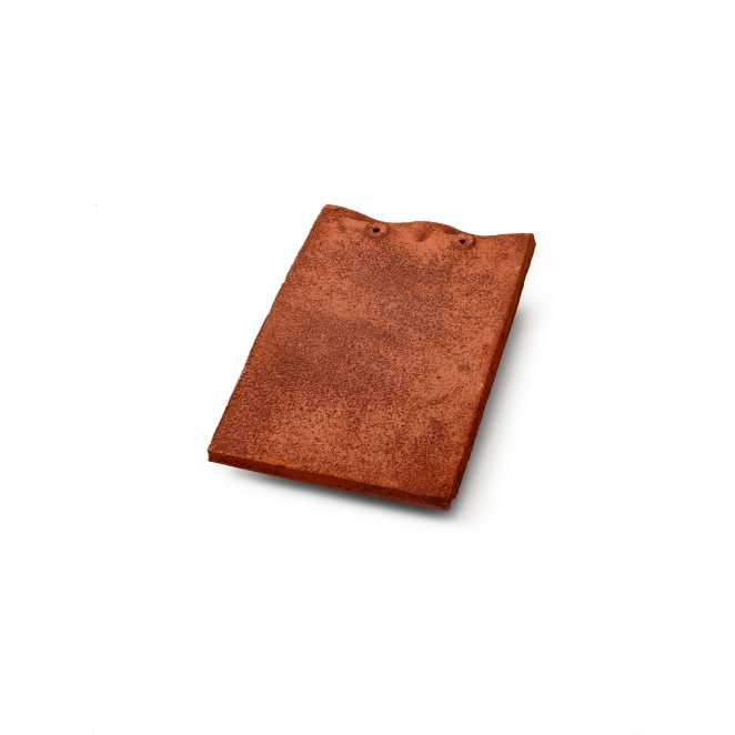 Single product shot of a Tegelpan Keymer Shire Heritage roof tile