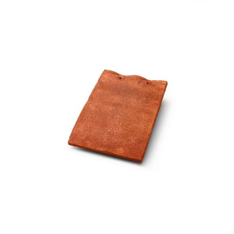 Single product shot of a Tegelpan Keymer Shire Downs Red roof tile