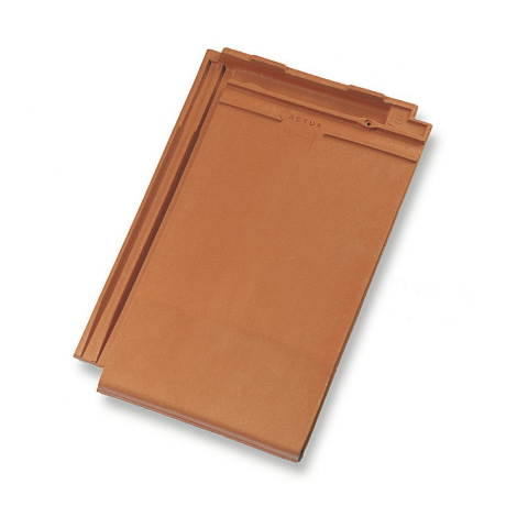 Single product shot of a Actua 10 LT Natuurrood roof tile