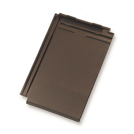 Single product shot of a Actua 10 LT Bruin roof tile
