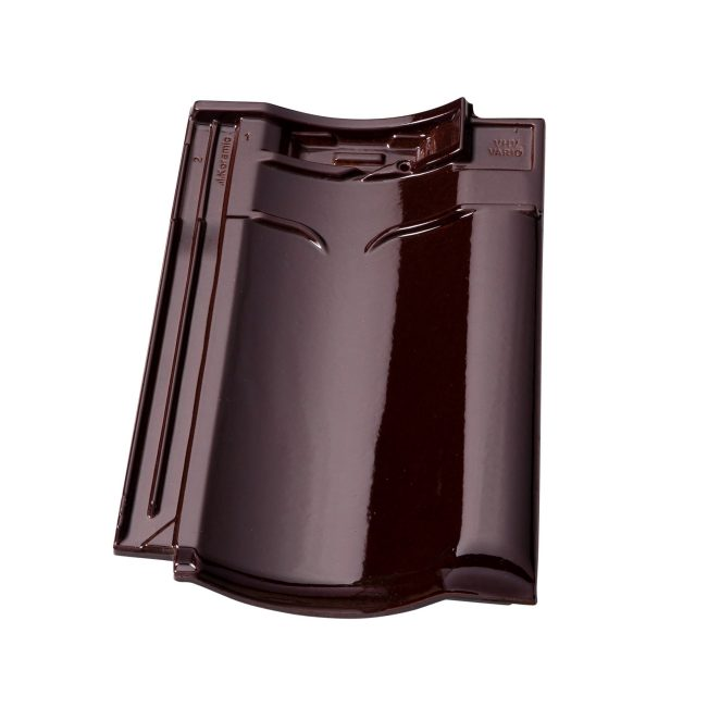 Productshot of the VHV Vario Wijnrood geglazuurd rooftile