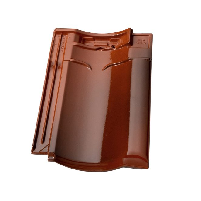 Productshot of the VHV Vario Rustiek geglazuurd rooftile